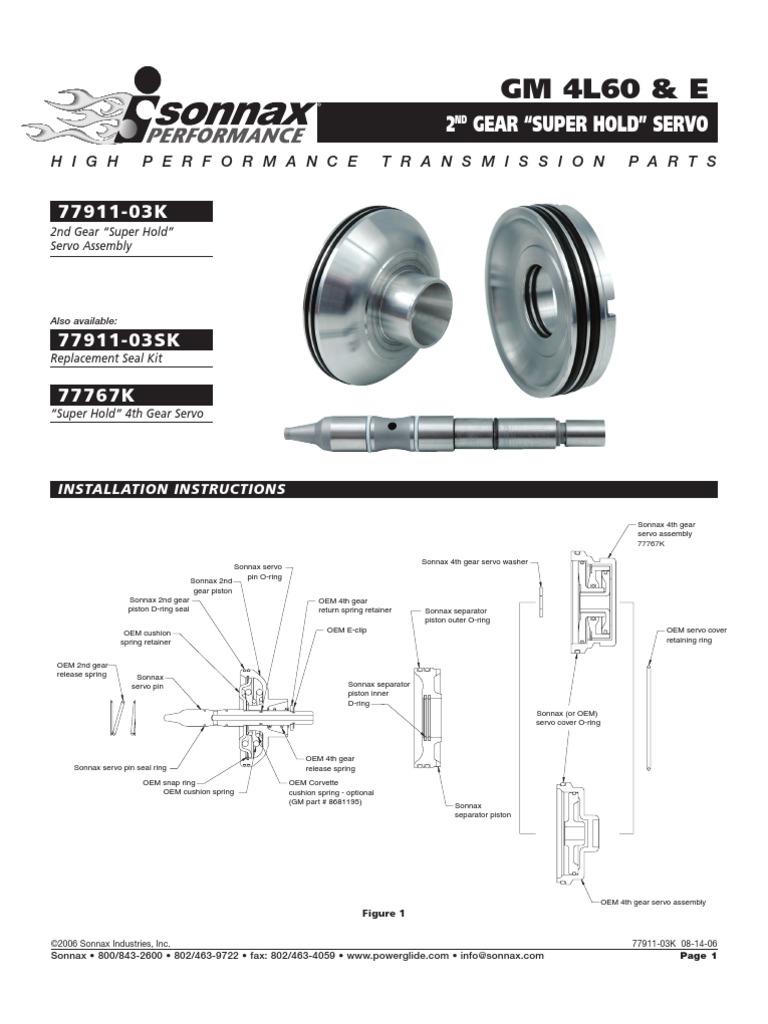 Gm 4l60 & e | Piston | Mechanical Engineering