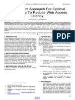 An Efficient Approach for Optimal Prefetching to Reduce Web Access Latency