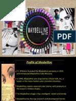 Presentation on Maybelline