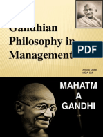 Gandhian Philosophy