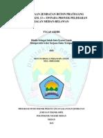 Perencanaan Jembatan Beton Prategang Sei PArit - 4, Km. 13 + 339 Pada Proyek Pelebaran Jalan Medan - Belawan - Devi Nurmala Perangin-angin (0905131008) - TPJJ