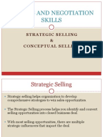 6. Conceptual Selling& Strategic Selling