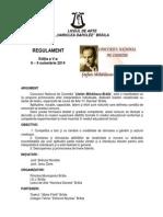 REGULAMENT CONCURS  TEATRU 2014   .pdf