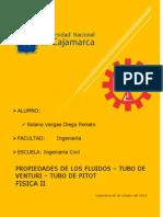 Tarea Propiedades de los Fluidos Tubo de Venturi y Tubo de Pitot.docx