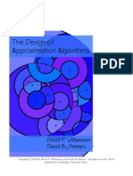 The Design of Approximation Algorithms David P. Williamson David B. Shmoys