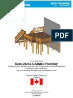 Deck Deck Design