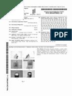 Patent No. WO 2014/070822 A1