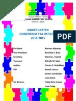 homeroom pta officials 2014-2015
