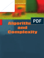 Algorithms and Complexity, By Herbert S. Wilf