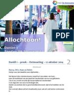 Daniël 1 – Preek – Ontmoeting – 12 Oktober 2014 - Web
