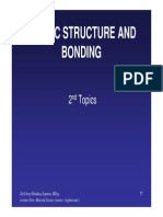 Topik 2-Atomic Structure and Bonding - Ilmu Bahan.pdf