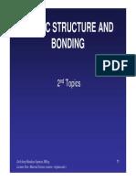 Topik 2-Atomic Structure and Bonding - Ilmu Bahan.pdf