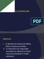 Campus Journalism Complete Slides
