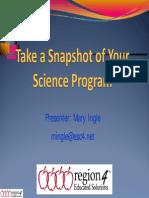 Take a Snapshot of Science Program (sains)