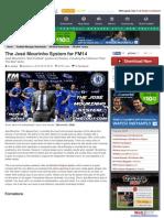 The José Mourinho System for FM14