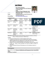 Shree Kumar Maharjan Curriculum Vitae