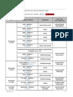 Exames Profissional - Época Especial Junho - Julho 2012 - 3 ª Alteração
