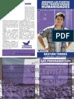 Programa Territorial 2015 Bastián Torres