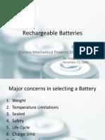 Reachable Batteries