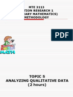 05 Analyzing Qualitative