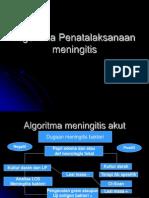 Algoritma Penatalaksanaan Meningitis