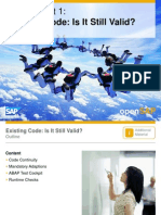 OpenSAP a4h1 Week 2 ABAP Coding Optimize