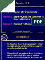 Session I207 Radioactivity