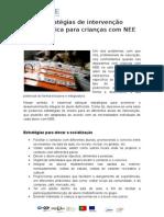 Estratégias de intervenção pedagógica para crianças com NEE.doc