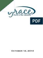 Worship Folder 10-12-14