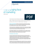 The Changing Face of Marketing - McKinsey