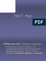 How to make T-Plan