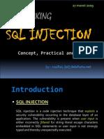 SQL Injection Slide
