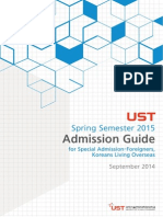UST Admission Guide Spring en 2015