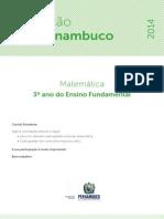 Avaliação diagnostica 2014 - MAT - 3EF.pdf