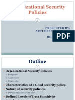 Organizational Security Policies