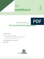 Avaliação diagnostica 2014 - MAT - 4EF.pdf
