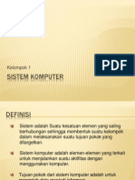 Presentasi Sistem Komputer
