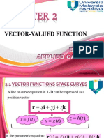 CHAPTER 2 Vector Valued Function