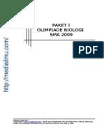 Paket 1 Soal Olimpiade Biologi 2009