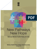 India National Mental Health Policy Dt 20141010 Parts 1 to 4 Merged