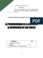 LA PREMODERNIDAD DE LA CIENCIA EN LA UNIVERSIDAD DE SAN CARLOS.pdf