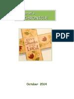 St Kiaran's Chronicle Oct 2014