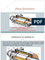 Eksitasi Brushless Generator