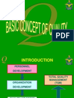 Basic Concept of Quality