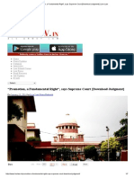 """Promotion, A Fundamental Right"", Says Supreme Court [Download Judgment] _ Live Law"