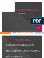 Microsoft PowerPoint - RESTAURACIÓN NEOCONSERVADORA. 2014-1.pdf