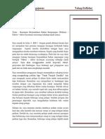 Jurnal Reflektif (Refleksi) Pengajaran