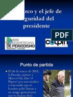 El narco y el jefe de seguridad presidencial
