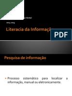 Literacia da Informação - Dia da Saúde Mental 2014