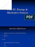 Environment - Energy & Alternative Sources-New